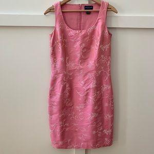 vintage ann taylor silk dress